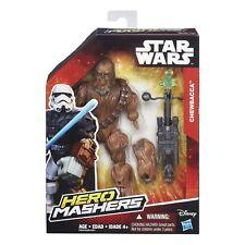 "Chewbacca ( 6"" ) Star Wars Hero Mashers Action Figure w / Bowcaster ( Disney )"