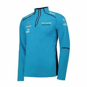 Williams Racing Mens Team Midlayer Sweatjacket blue (XXL)