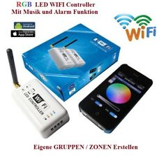LED RGB WiFi WLAN Controller Musik Alarm Strip iPhone Android Smartphone 2.4Ghz