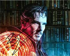 "BENEDICT CUMBERBATCH ""Dr Strange"" Autographed 8 x 10 Signed Photo HOLO COA"