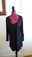 TS black long sleeves top / tunic Size S