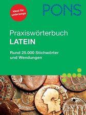 PONS Praxiswörterbuch Latein, 620 SeitenNEU