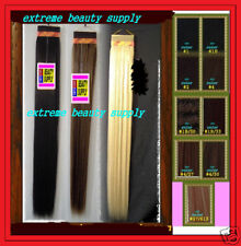 "40"" inch long synthetic weave hair extension track pony tail 4 , 1B/30, 1B/33"