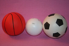 2a- TOY BALL LOT BASKETBALL, SOCCERBALL, WIFFLE BALL FUN TO PLAY GENTLY USED