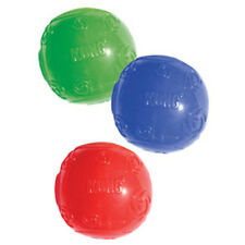 KONG Squeezz Ball Rubber Squeaker Erratic Bounce Squeaky Ball Dog Fetch Toy