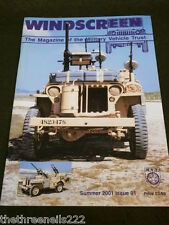 MILITARY VEHICLE TRUST - WINDSCREEN # 91 - SUMMER 2001 - SNIPERS TOM CATS