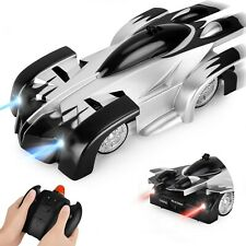 Indoor toy Wall Climbing Car Rechargeable Fast Race Car Rotating Stunt Car Black
