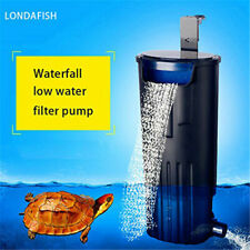 Turtle Water Filter Submersible Tank/Aquarium 600L/H Filtration Low Water Level