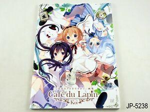 Gochiusa Illustrations Cafe du Lapin Japanese Artbook Book Is the order a rabbit