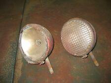 Pair Guide Lamp Old Running Light Fog Light Hot Rod Rat Rod Model A