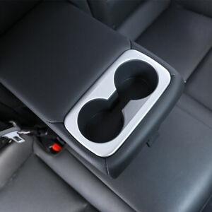 For Hyundai Tucson 2016-2019 ABS Matt Interior Rear Water Cup Holder Cover Trim
