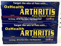 2 x Genuine OzHealth Arthritis Pain Relief Cream 114g Glucosamine Plus Vitamin E