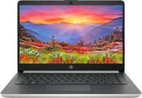 "NEW HP 14"" HD AMD A9-9425 3.7GHz 4GB SDRAM 128GB SSD Webcam BT Win 10 Laptop"