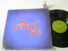 PAUL STOOKEY Paul And 1971 US LP +FOC WARNER BROS WS 1912, PETER PAUL & MARY