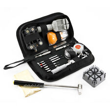 21pcs Watch Repair Tool Kit Set Watchmaker Back Case Opener Link Pin Remover Oz