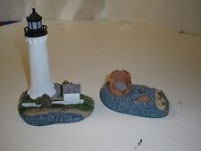 Harbour Lights Round Island Mississippi Then & Now Lighthouse #242 242 2000 3875