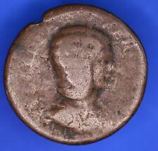 More details for roman coin, roman imperial Æ sestertius, 25mm julia dormina [18595]