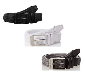 Under Armour UA Braided 2.0 Belt Mens 1306538 - New - Pick Color & Size