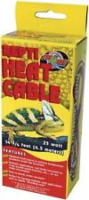 Zoo Med Reptile Heat Cable 25 Watts, 14.75-Feet, New, Free Shipping