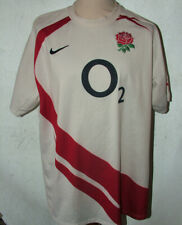Nike England Home Rugby Union 2007 World Cup Shirt XXL To Fit 47/48inch chest