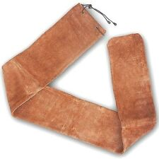 """Traditional Archery Leather Recurve Bow Cover / Case Lbca14627 Brown (66"""" X 7"""")"""