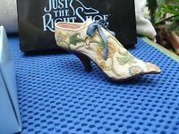 "Just The right shoe ""Brocade Court"" Boxed"
