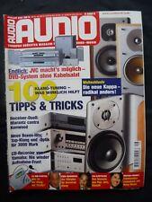 AUDIO 9/01, MIRAGE OM 9,TRIANGLE ZAYS XS,INFINITY KAPPA 600,B & W CM 4,WADIA 861