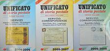 UNIFICATO di Storia Postale : Anni 2004-2006/ 2005-2007/ 2006-2008 (1°-2°-3°VOL)