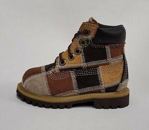 Timberland Toddler Patchwork Medium Brown Boot 19827