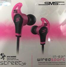 SMS Audio Da 50 centesimi in Ear Cablata Cuffie Sport In Rosa