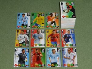 2010 World Cup South Africa ADRENALYN XL PANINI - base set (250 cards)