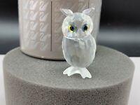 Swarovski Figur 206138 Kristall Uhu / Eule 5 cm. Ovp & Zertifikat. Top Zustand