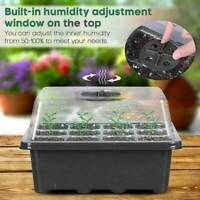 12 Hole Plant Seed Grow Box Nursery Seedling Starter Thermal Insulation