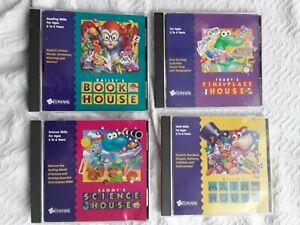 Bailey Book/Sammy Science/Trudy Time & Place/Millie Math House - CD Windows/Mac