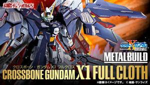 Metal Build Mobile Suit Gundam Crossbone Gundam X1 Full Cloth Bandai JAPAN NEW