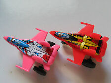 Vintage F-18  Hornet Aircraft Airplane Jets *Friction Toys 2 planes *Great Gift*
