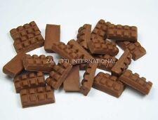 100 Dollhouse Miniature Chocolate Candy Bars * Doll Mini Tiny Food Wholesale Lot