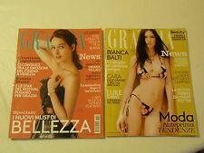 Settimanale Grazia moda bellezza design cultura Agosto Settembre 2016 arretrati