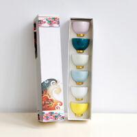 Keramische Kaffeetassen   Set Mit 6 Rainbow Cup Kaffeetassen Mit Geschenkbox