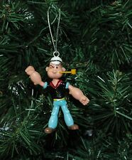 Popeye The Sailor Man (with tattoos) Christmas Ornament