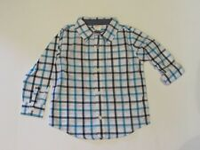 NWT Gymboree Plaid Button Down Shirt Toddler Boys 2T $29.95