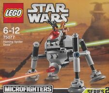 rare LEGO STAR WARS MICROFIGHTER SERIE 2 75077 HOMING SPIDER DROID New Nib Seale