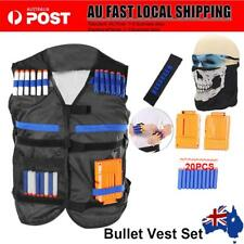Tactic Vest Kid Toy Gun Clip Jacket Foam Bullet Holder for Nerf N-strike Elite