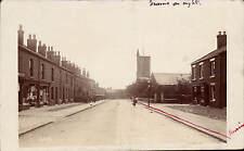 Westhoughton near Wigan by C.B.B. Road to Church.