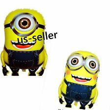 US SELLER 2  DESPICABLE  ME MINION SUPERSHAPE  BALLOON BIRTHDAY PARTY SUPPLIES