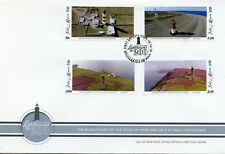 Isla de man IOM 2018 FDC Faros punto de Ayre Pantorrilla De Hombre 4v cubierta de sellos