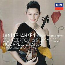 Bruch - Violin Concerto No.1 · Romance · Mendelssohn - Violin Concerto / Jansen