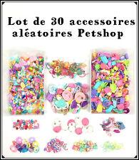2 Sachet Littlest Petshop Lot 30 Accessoires Aléatoires Nourriture... Pet Shop