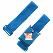 New Listinge Outstanding Static Free Wrist Strap 1set Blue Wireless Cable Less Static Fr