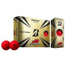 New listing Bridgestone e12 Contact RED Golf Balls 2 Dozen - NEW 2021 *FREE SHIPPING*